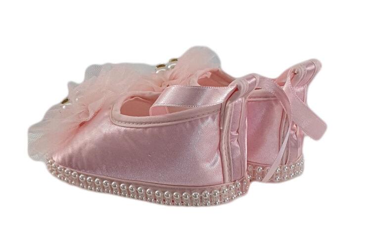 Botosei fete culoare roz pentru botez