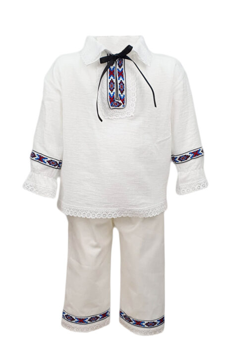 Costum traditional baieti 5 piese